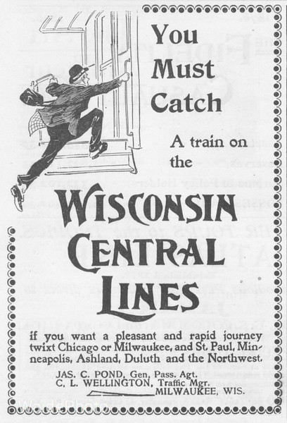 1896 Wisconsin Central.