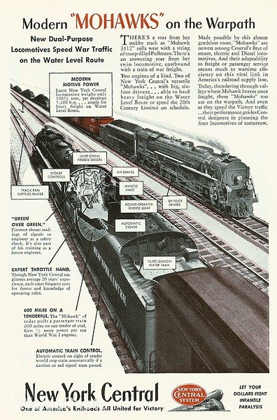 1940's  New York Central.