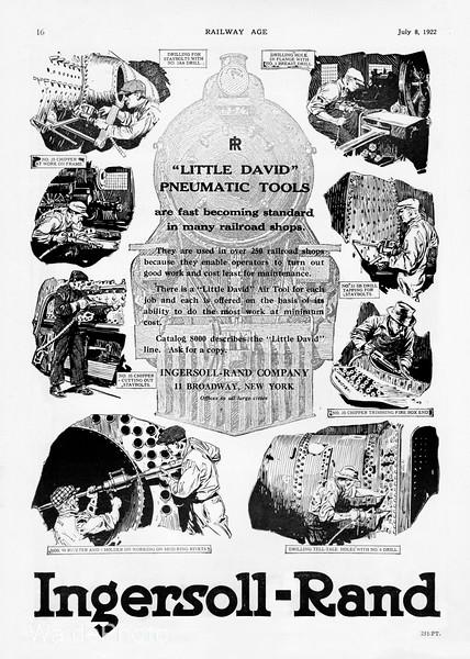 1922 Ingersoll-Rand.