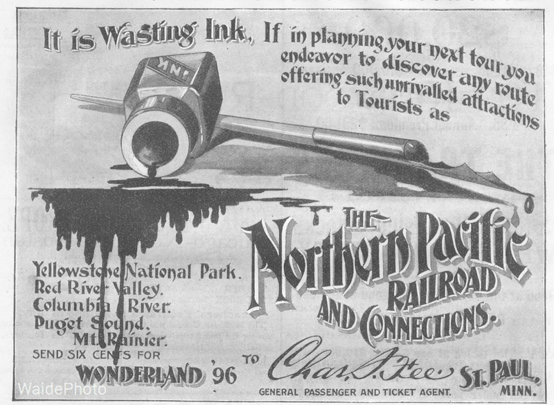 1896 Northern Pacific.