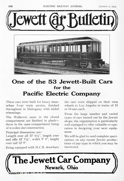 1913 Jewett Car Company.