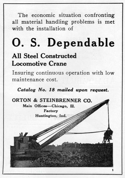1922 Orton & Steinbrenner Company.