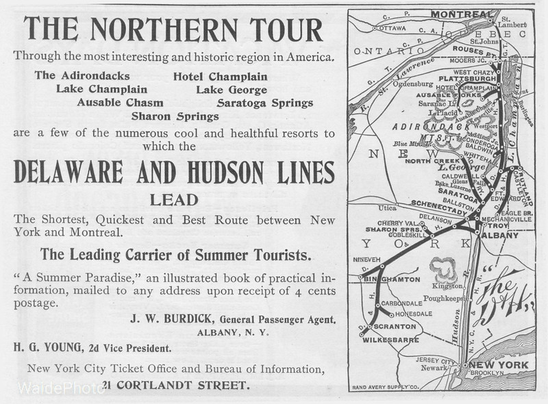 1900's (early) Delaware & Hudson.