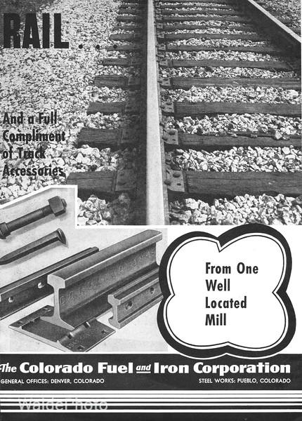 1941 Colorado Fuel & Iron Corporation.
