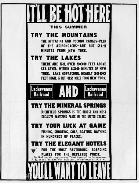 1900 Delaware, Lackawanna, & Western.