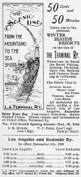 1899 LA Terminal Railway