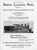 1899 Baldwin Locomotive Works.<br /> <br /> Featured - Midland Railway of England #2501.