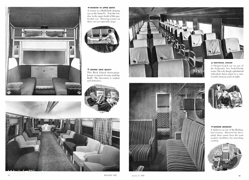 1940 Budd - Stainless Steel Passenger Cars Page 2 & 3 of 4.