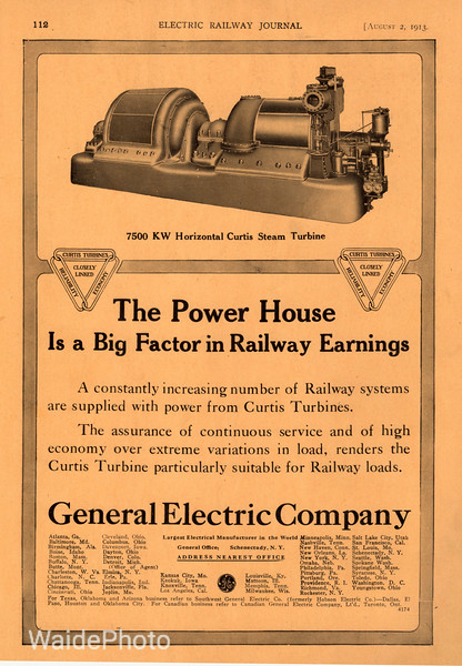 1913 General Electric.