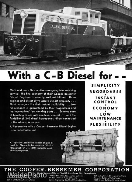 1941 Cooper-Bessemer Corporation.