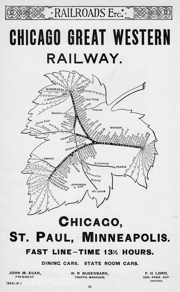 1893 Chicago Great Western.