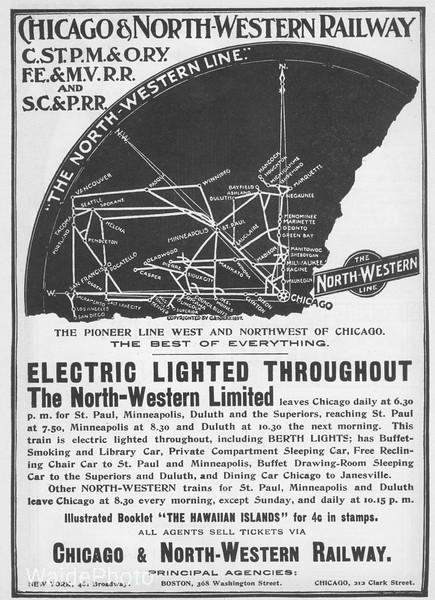 1897 Chicago & Northwestern.