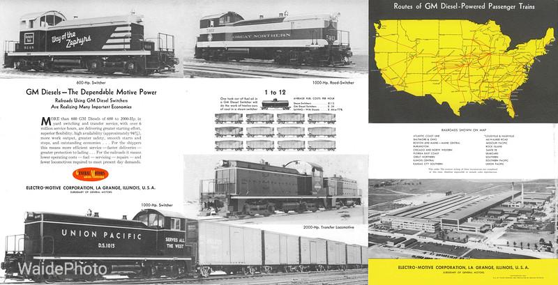 1941 Electro Motive Corporation.