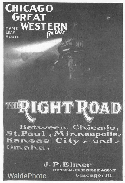 1905 Chicago Great Western.