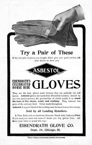 1904 Eisendrath Glove Company.