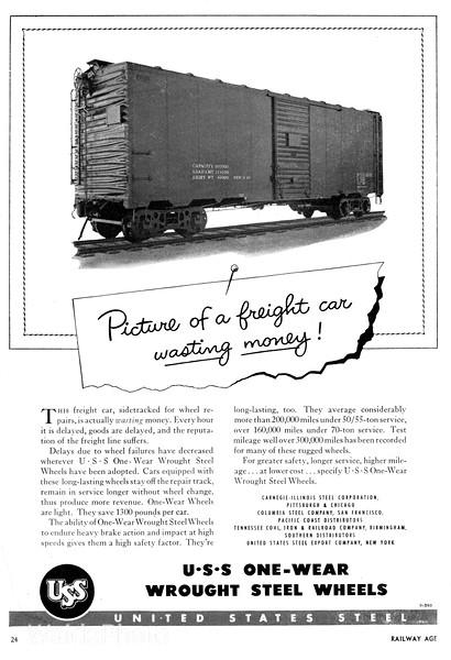 1940's United States Steel.