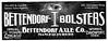 1902 Bettendorf Axle Company.