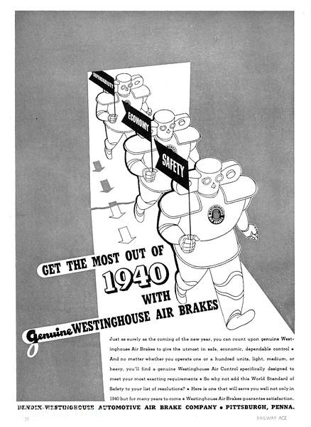 1940 Bendix-Westinghouse Automobile Air Brake Company.