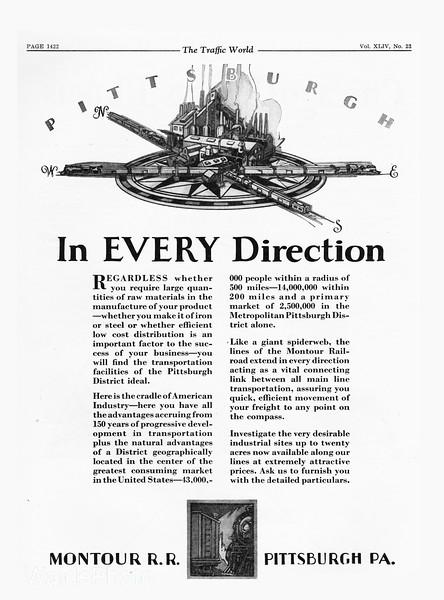 1929 Montour Railroad.