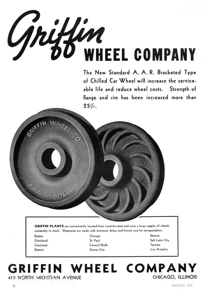 1940 Griffin Wheel Company.