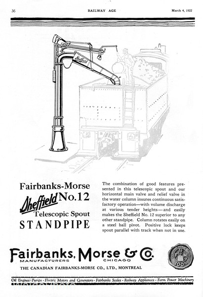 1922 Fairbanks-Morse.