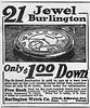 1923 Burlington Watch Company.