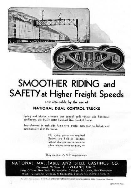 1941 National Malleable and Steel Castings Company.
