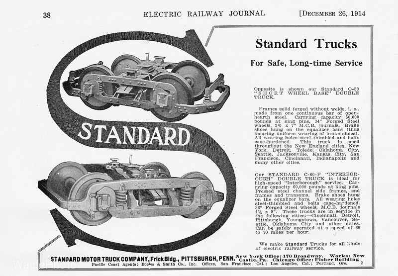 1914 Standard Motor Car Truck Company.
