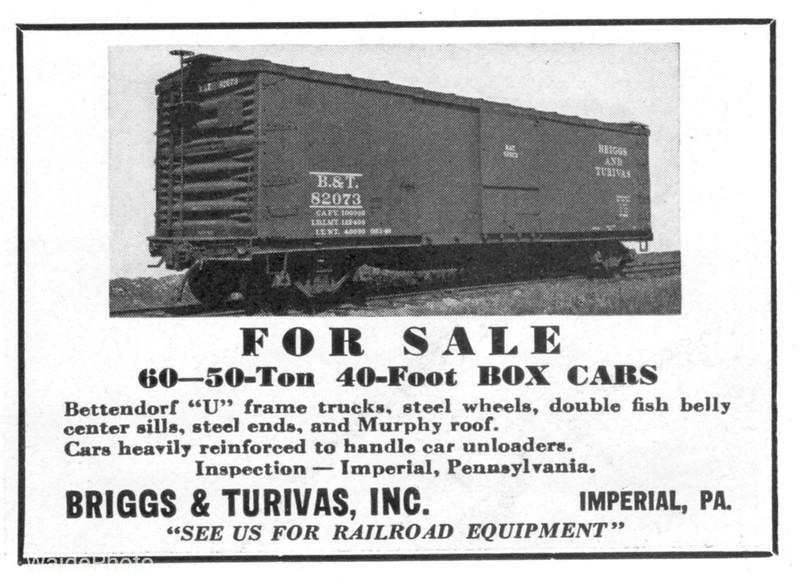 1941 Briggs & Turivas, Incorporated.