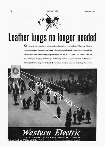 1935 Western Electric.