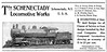 1900 Schenectady Locomotive Works.