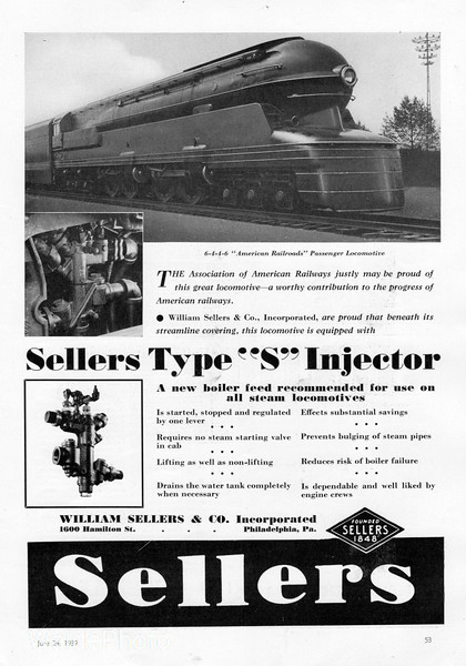1939 William Sellers & Company.
