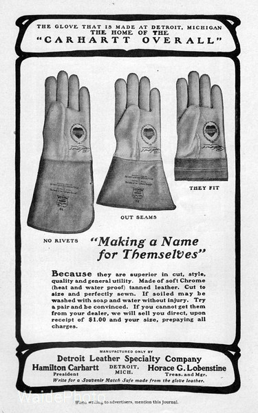 1904 Detroit Leather Specialty Company.
