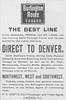 1891 Chicago, Burlington, & Quincy.