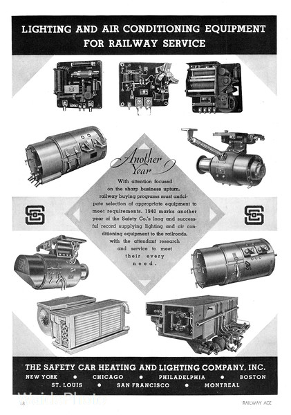 1940 Safety Car Heating and Lighting Company.