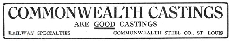 1911 Commonwealth Castings.