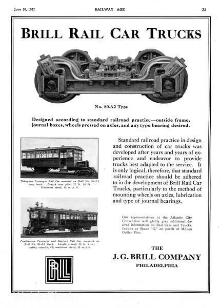 1922 Brill.