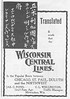 1896 Wisconsin Central Lines.