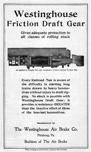 1904 Westinghouse Air Brake Company.
