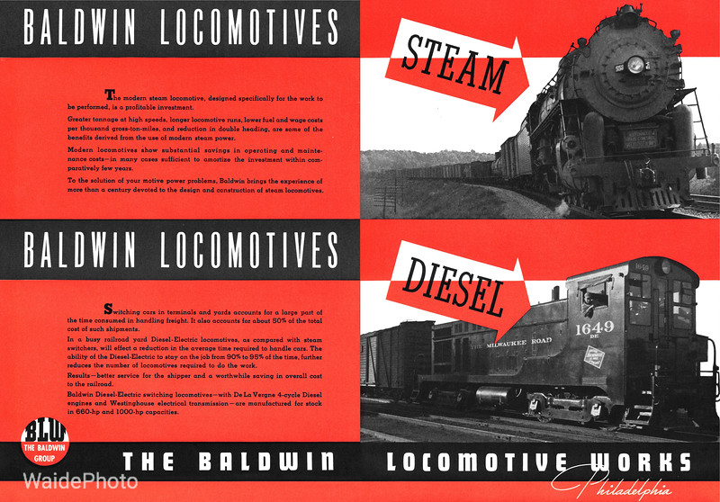 1941 Baldwin Locomotive Works.