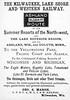 1888 Milwaukee, Lake Shore & Western Railway.