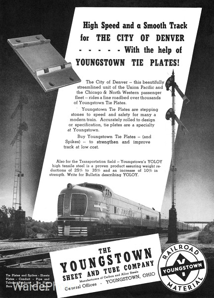1940 Youngstown Steel and Tube Company.
