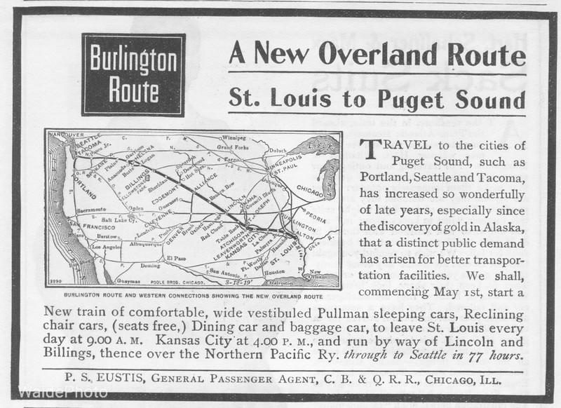 1900 Chicago, Burlington, & Quincy.