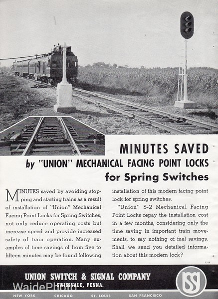 1939 Union Switch & Signal Company.