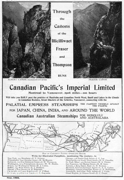 1900 Canadian Pacific.