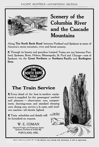 1911 Spokane, Portland & Seattle Railway.