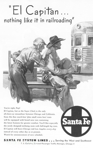 1940's Santa Fe.