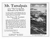 1912 Mt. Tamalpias.