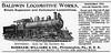 1900 Baldwin Locomotive Works.