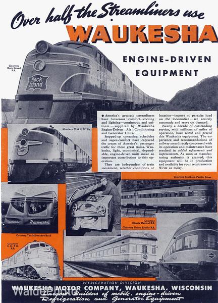 1940's Waukesha Motor Company.